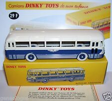 REEDITION DINKY TOYS ATLAS AUTOCAR AUTOBUS BUS CHAUSSON REF 29F 1/65 IN BOX