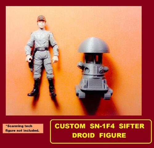 Custom Star Wars SN-1F4 SIFTER DROID Figure jakku niima outpost tatooine