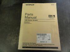 Caterpillar Cat 12m Motor Grader Parts Manual Sebp4971