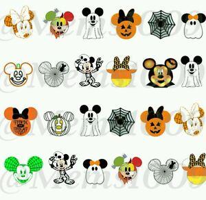 Disney Halloween Nail Art (water decals) Disney Nail ...