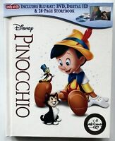 Pinocchio Blu Ray Dvd + Digital Hd 2 Disc Set Target Exclusive Digibook
