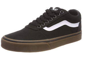 Details zu Vans Men's's Ward Canvas Low Top Sneakers, Black ((Canvas) BlackGum 7Hi)