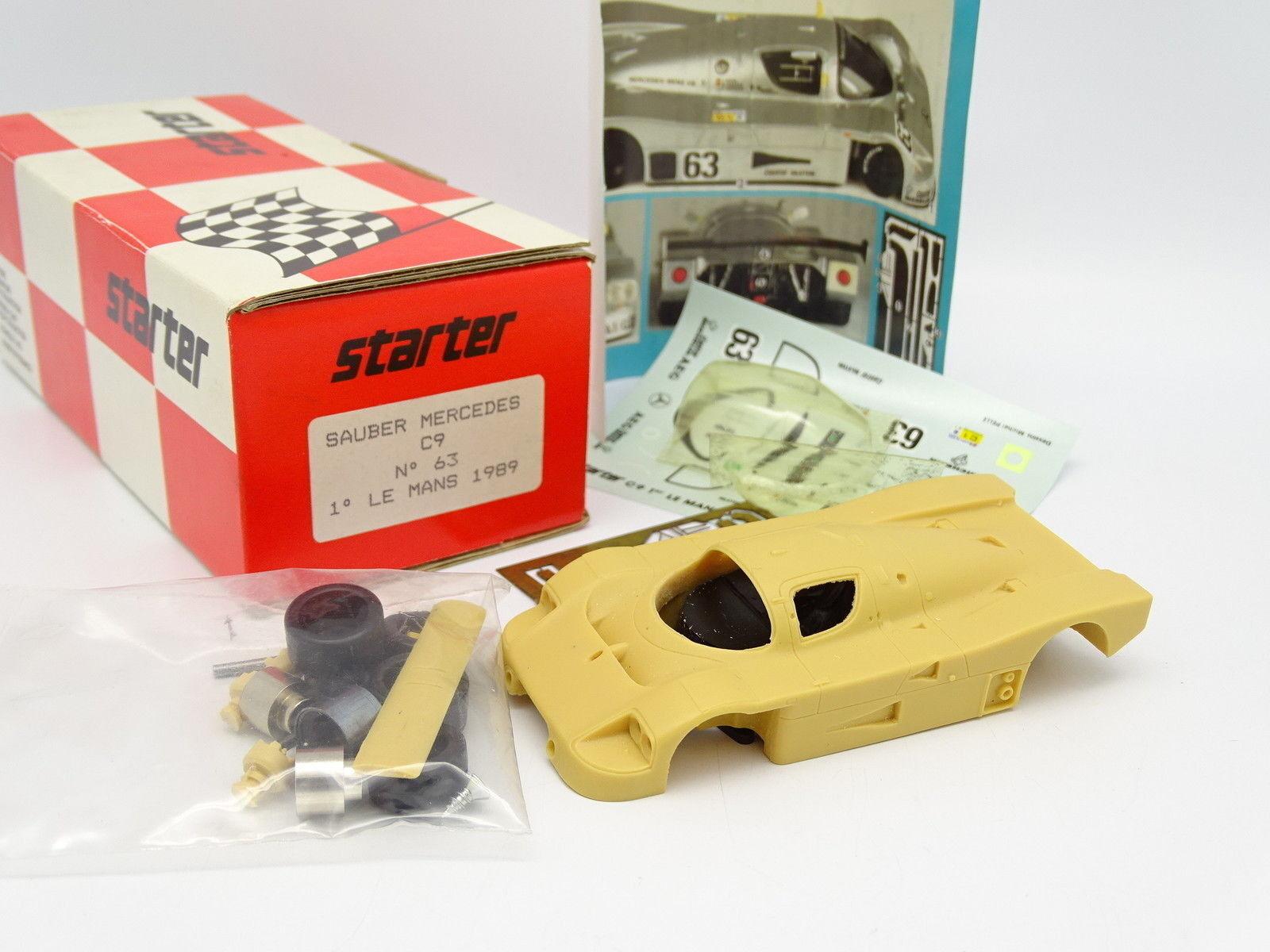 Starter Kit à Monter 1 43 - Sauber Mercedes C9 N°63 Winner Le Mans 1989