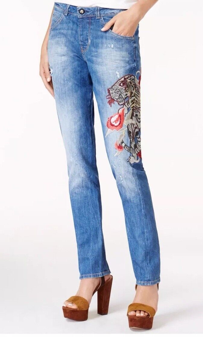 Guess Embroidered Skinny Jeans - Kaem-openKale.. S 30