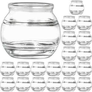 20-kleine-Windlichthalter-Teelichtglaeser-Kerzenglaeser-Kerzenhalter-fuer-Teelicht