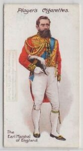 Earl-Marshal-of-England-Formal-Uniform-England-King-100-Y-O-Trade-Ad-Card