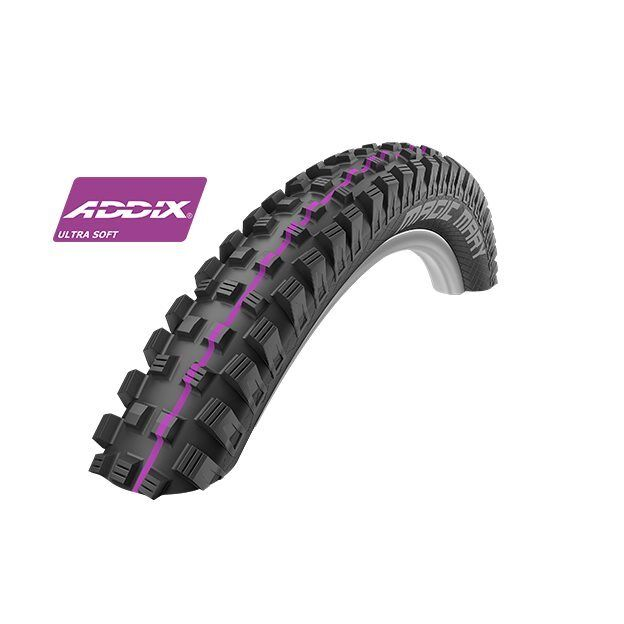 Magic Mary 27,5x2.60 EVO Downhill wired Estado de Addix Ultra Suave SCHWALBE