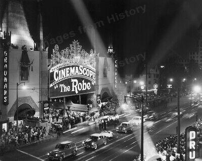 8x10 Print The Robe Premiere 1953 Grauman's Chinese Theatre Cinemascope  #7455 | eBay