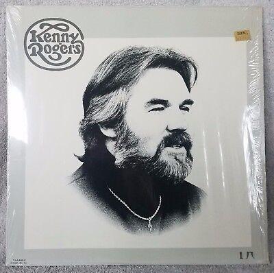 "KENNY ROGERS 1976 S/T (UA-LA689-G) 12"" Vinyl 33 LP COUNTRY Lucille - Laura VG+"
