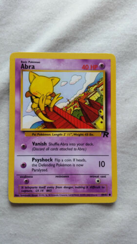 Pokemon Cards Team Rocket Make your selection