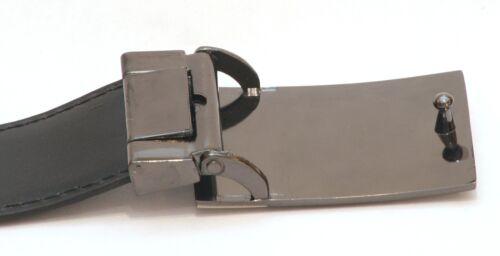 Urogallo emblema correa hebilla y cinturón de cuero en lata de disparo Ideal de regalo presente