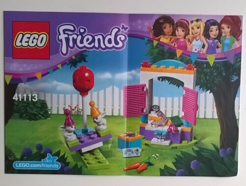 Lego Friends Instruction Manual BOOKS ONLY new