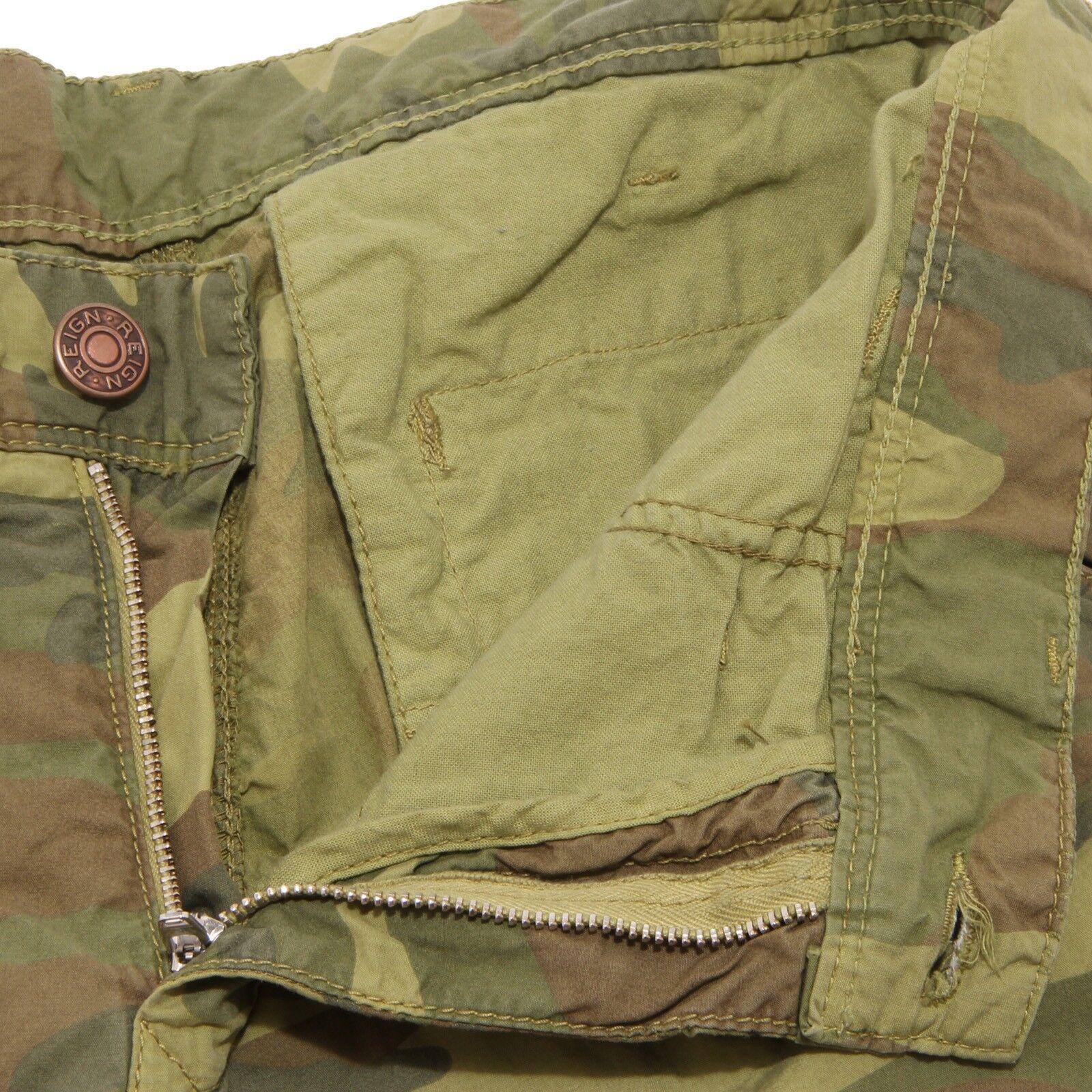 61229 bermuda REIGN MIMETICO     pantaloni corti uomo trousers shorts men 64aef3