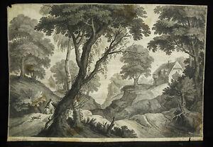 Engraving-Xviie-Engraved-Per-Alexander-II-Voet-C-1637-1693-1705-Scene
