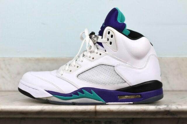 Size 12.5 - Jordan 5 Retro Grape 2013