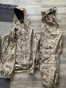 New PCU Level 6 Patagonia/ Gortex Jacket And Pants AOR1 Large Regular