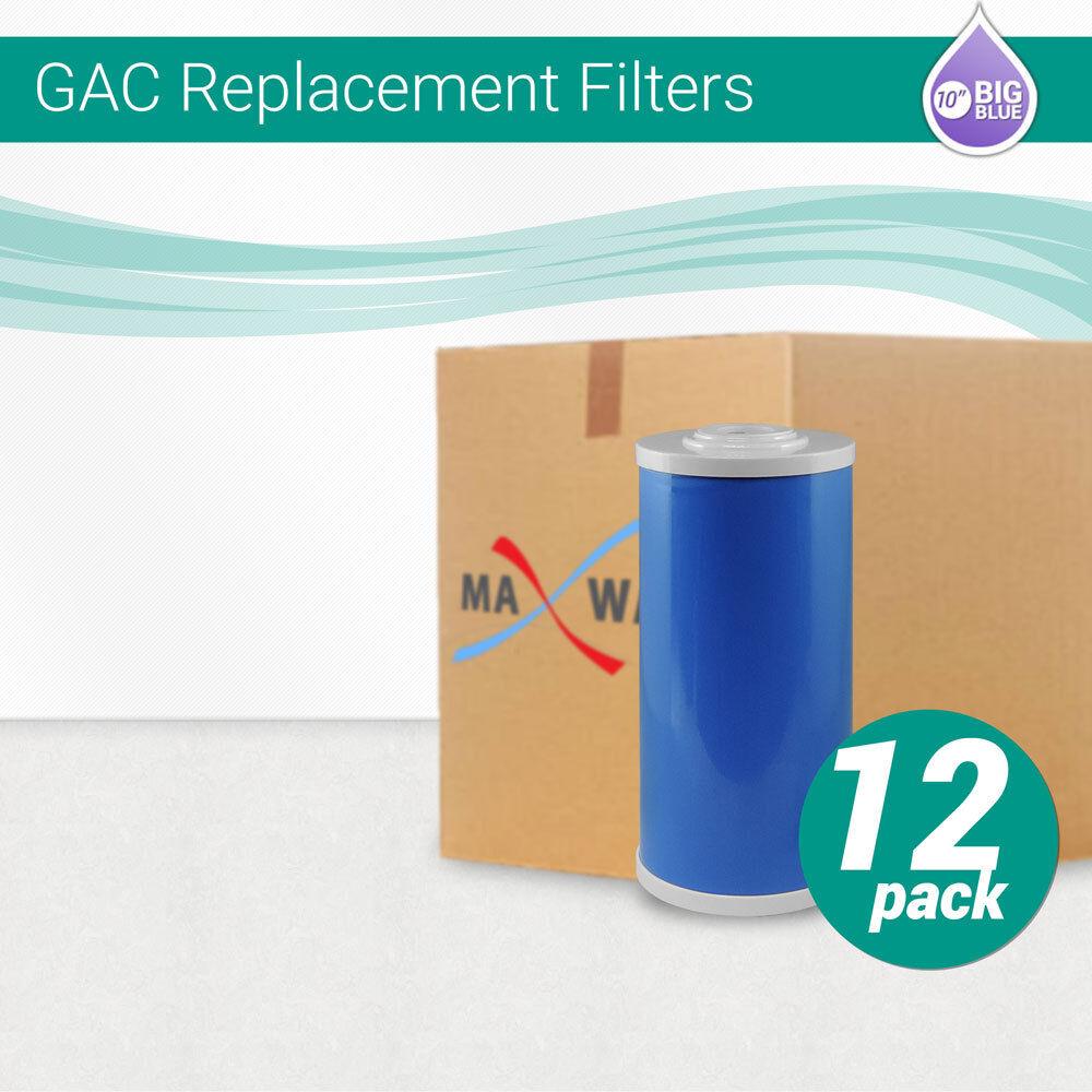 12 10 x 4.5  Big bleu Granular Activated Carbon GAC UDF Water Filter Cartridge