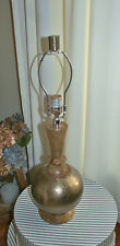 POTTERY BARN SHERWOOD ROUND TABLE LAMP