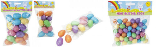Rainbow Couleur Paillettes oeufs Disponible En Choix De 3 tailles différentes ou les 3