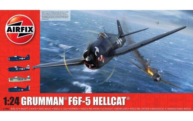 Airfix A19004 - 1/24 Grumman F6F-5 Hellcat - Nuevo