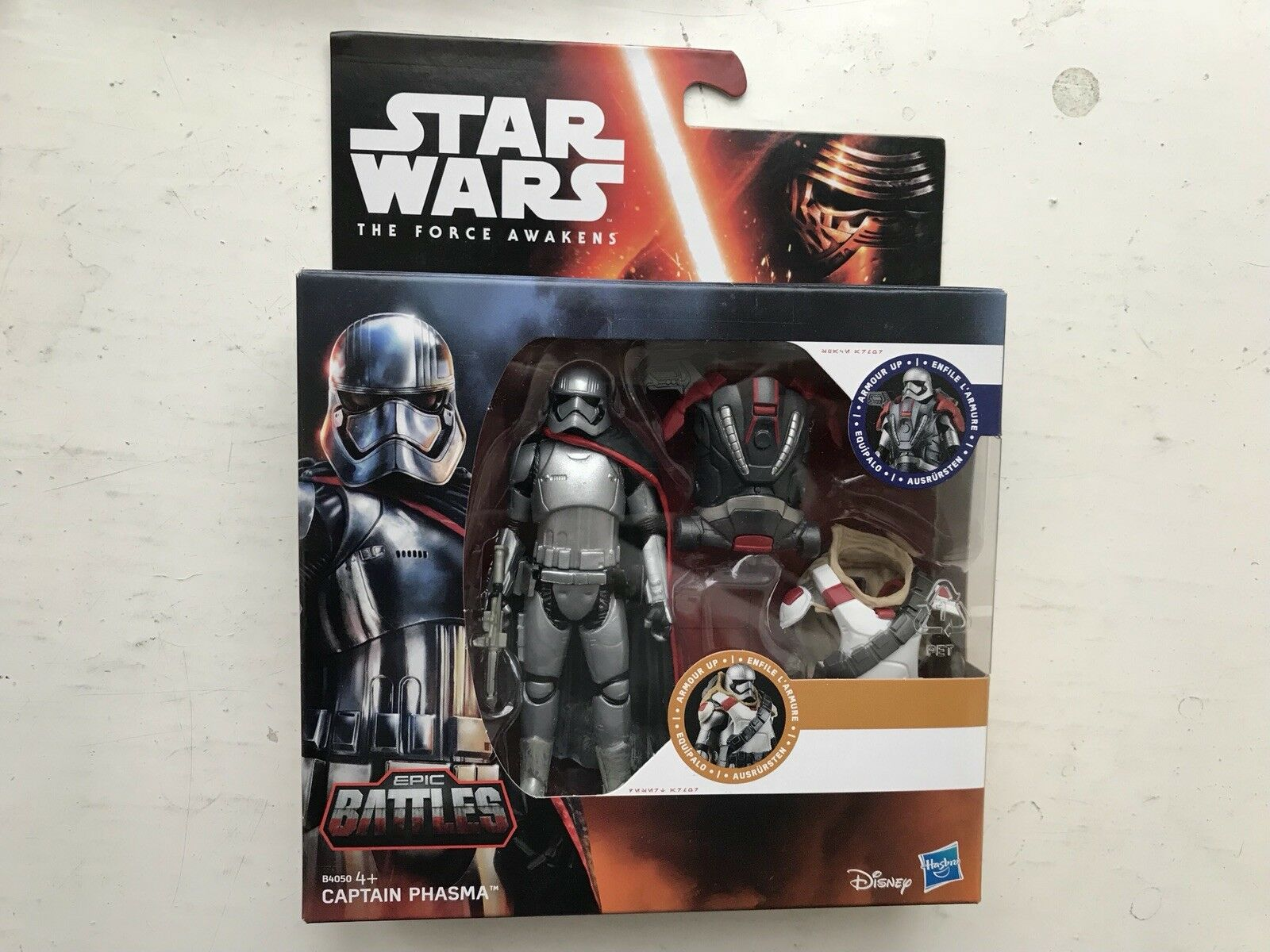STAR WARS THE FORCE AWAKENS EPIC BATTLES SERIES CAPTAIN PHASMA FIGURE HASBRO