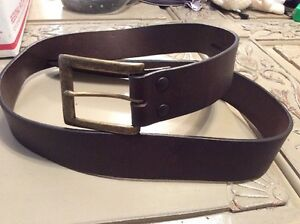 Men-039-s-Brown-Genuine-Leather-Belt-Size-40-R