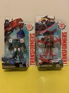 "Transformers Legions 3""Set Of Blizzard Strike Optimus & Windblade B5593/B4681"