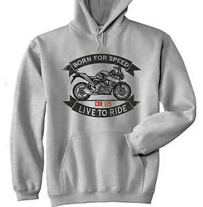Hoodie Honda Cbr Tailles Gris Stock 125 Toutes En UU6aqrEAP