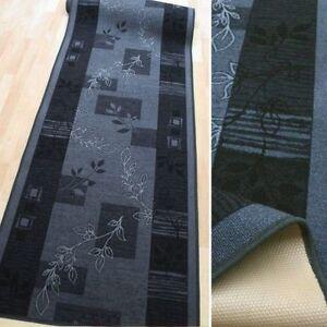 feiner teppich l ufer aw julia grau 100 cm breit feinschlinge teppichl ufer neu ebay. Black Bedroom Furniture Sets. Home Design Ideas