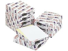 XEROX Carbonless Paper, 2-Part Straight Collated, White/Canary, Letter, 2500 Set