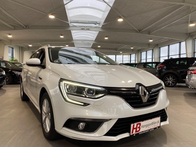 Renault Megane IV 1,5 dCi 110 Zen Sport Tourer 5d - 144.800 kr.