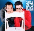 Please Be Seated [Digipak] by Micah Sherman/Myq Kaplan (CD, Sep-2012, Bseenmedia)