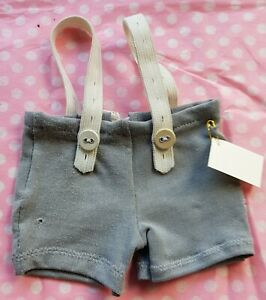 Carrier-IN-Shabby-Style-Grey-For-Approx-8-11-16-10-3-16in-Bears-Handarbeit