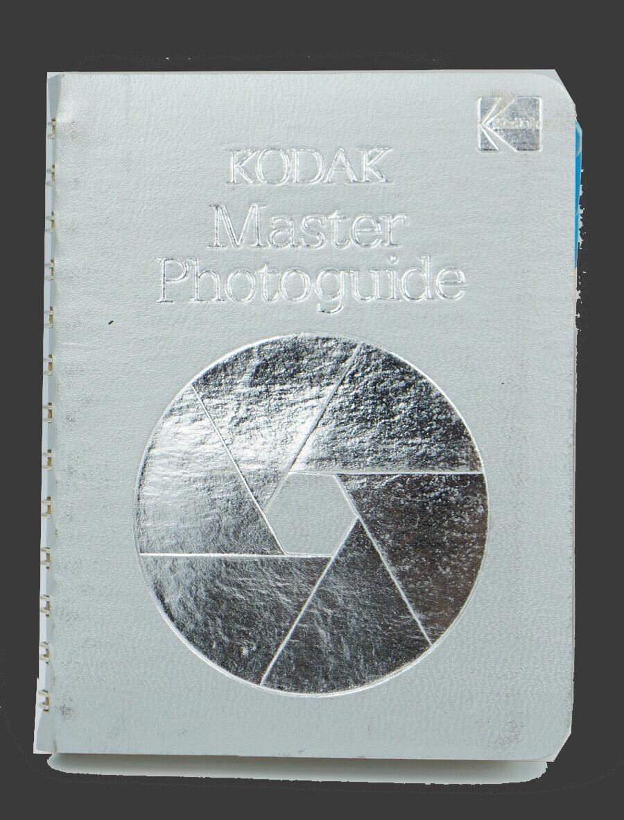 Kodak Master Photoguide Spiral Bound Pocket Book Photography Charts Tips 1978 2