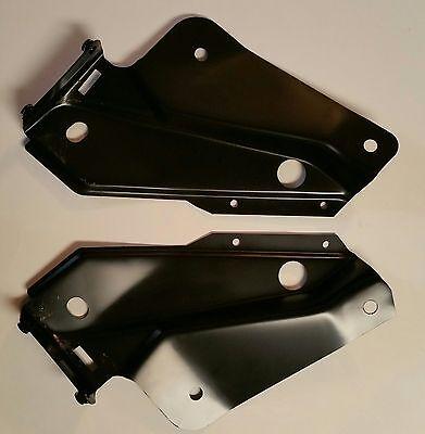1967 1968 1969 Pontiac Firdbird Radiator Support Gusset Brackets Pair 2 Pieces