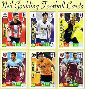 Pannini ADRENALYN XL-tarjeta Premier League 2019//2020 Tarjetas de base y otros