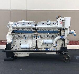 detroit diesel 16v 92ta ddec iii marine diesel engine. Black Bedroom Furniture Sets. Home Design Ideas