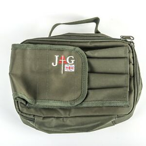 JAG Green 2 Rod Padded Buzz Bar//Bankstick Pouch Bag NEW Carp Fishing