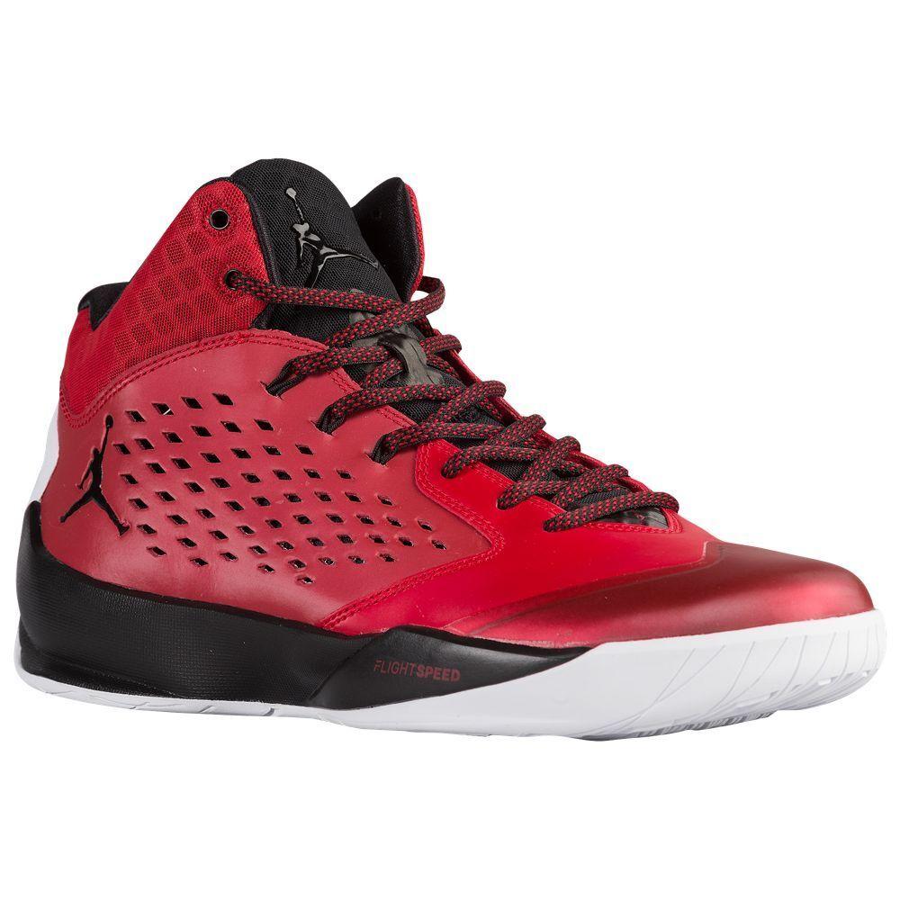 768931-601 Air Jordan Rising High Gym Red Black-White Size 8-12 NIB