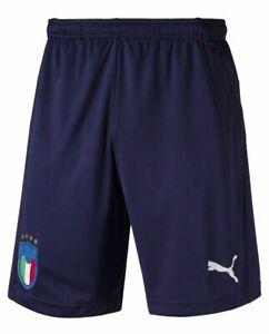 Autónomo Ajustarse suficiente  Puma Italy Italia 2018 - 2019 DryCell Training Soccer Shorts Brand New Navy  Blue | eBay