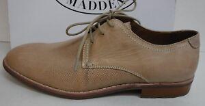 cerca simbólico Tremendo  Steve Madden Size 10.5 Beige Leather Oxfords New Mens Shoes | eBay