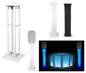 1-Rockville-RTP32W-Totem-Style-DJ-Speaker-Stand-Black-White-Scrims-Carry-Bag