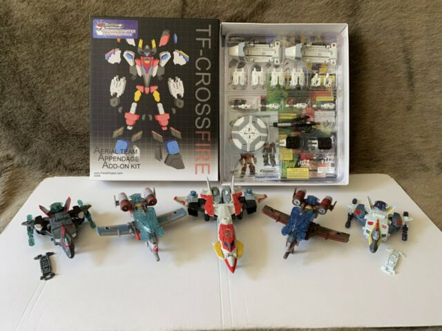Transformers FansProject TF Crossfire Aerial Appendage Add on kit (Snowman) ++