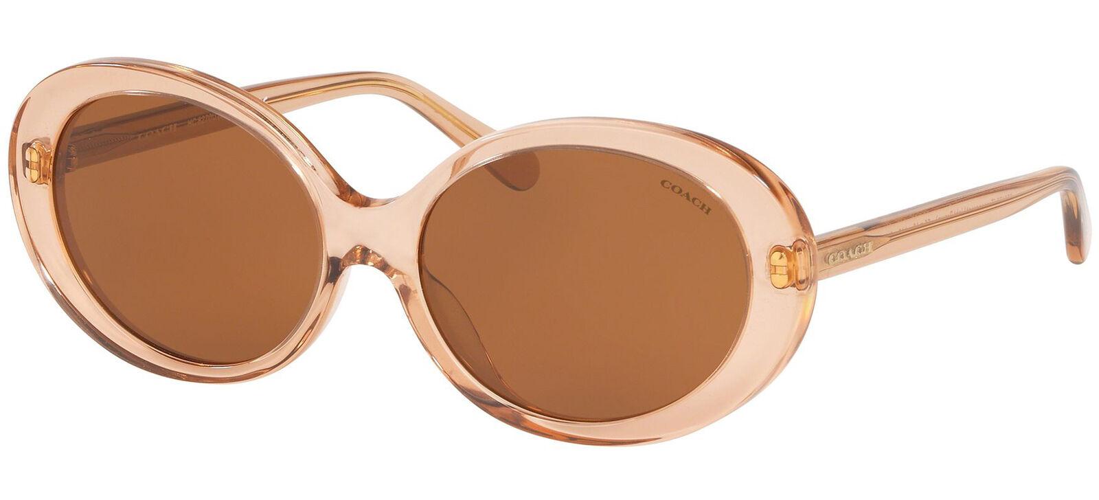Coach HC 8270U Light Brown/Brown 55/16/140 women Sunglasses