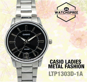 Casio-Ladies-039-Standard-Analog-Watch-LTP1303D-1A