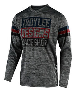 Small, Heather Gray Troy Lee Designs Mens Offroad Motocross GP Mono Jersey