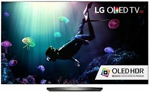 LG Electronics OLED65B6P Flat 65-Inch 4K Ultra HD Smart OLED TV 1 Yr Mnf Warnty