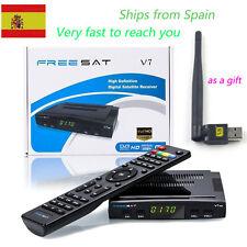 Freesat V7 HD 1080P DVBS2 DVR Digital Satellite Receiver TV Box Support USB Wifi