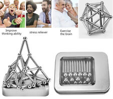 Antiniska 70pcs Magnetic Building Blocks Magnet Fidget Toys Magnetic Fidget T...