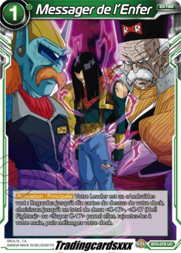 ♦Dragon Ball Super♦ Messager de l'Enfer : BT5-078 UC -VF
